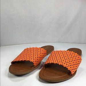 [172] XOXO 10 M Rachad - Womens Orange Sandals 10m